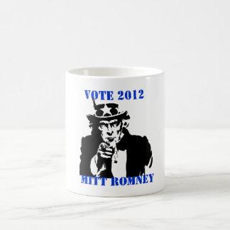 VOTE MITT ROMNEY 2012 COFFEE MUG