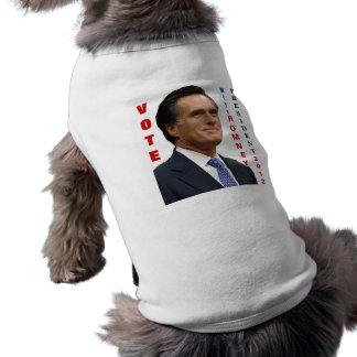 Vote Mitt Romney 2012 Dog Shirt