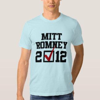 VOTE MITT ROMNEY 2012.png T-shirt