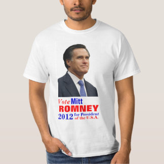 Vote Mitt Romney 2012 T-Shirt
