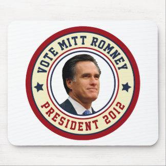 Vote Mitt Romney For President 2012 Mouse Pad