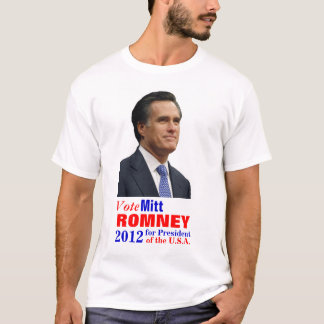 Vote Mitt Romney T-Shirt
