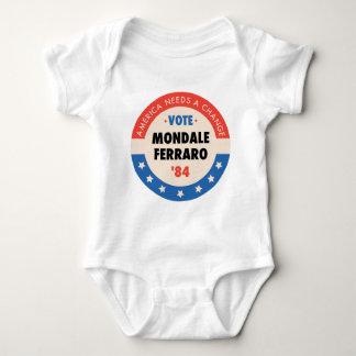 Vote Mondale/Ferraro '84 Baby Bodysuit