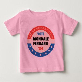 Vote Mondale/Ferraro '84 Baby T-Shirt