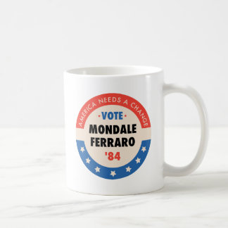 Vote Mondale/Ferraro '84 Coffee Mug