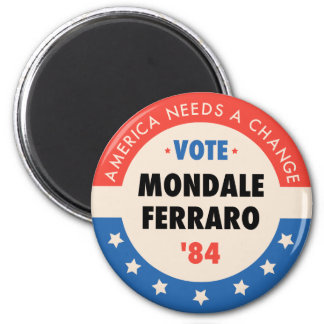 Vote Mondale/Ferraro '84 Magnet