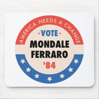 Vote Mondale/Ferraro '84 Mouse Pad