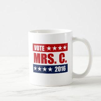 VOTE MRS. C. 2016 COFFEE MUG
