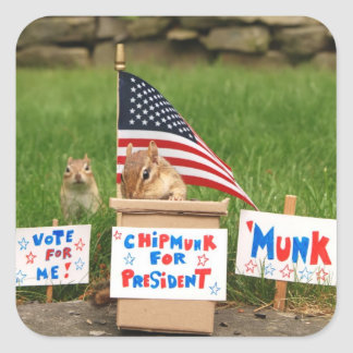 Vote 'Munk! Sticker