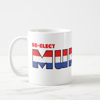 Vote Murray 2010 Elections Red White and Blue Coffee Mugs