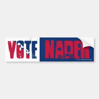 Vote Nader Bumper Sticker