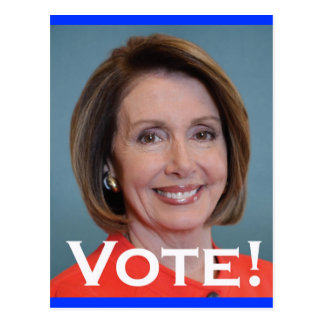 Vote Nancy Pelosi Postcard