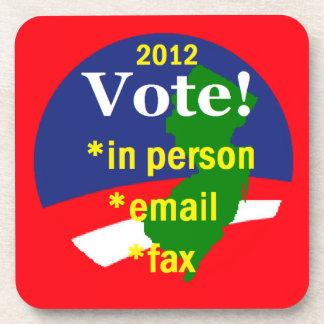 VOTE NEW JERSEY COASTER