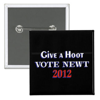 Vote Newt 2012 GAH Button