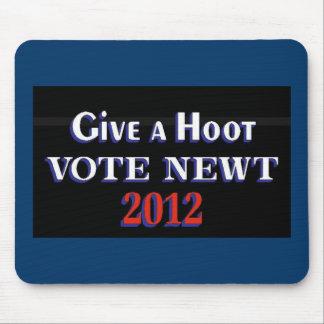 Vote Newt 2012 GAH Mouse Pad