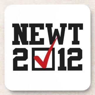 VOTE NEWT GINGRICH 2012 BEVERAGE COASTERS