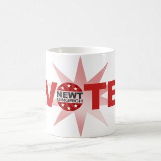 VOTE Newt Gingrich 2012 Coffee Mug