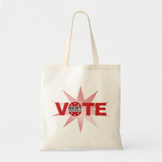VOTE Newt Gingrich 2012 Tote Bag