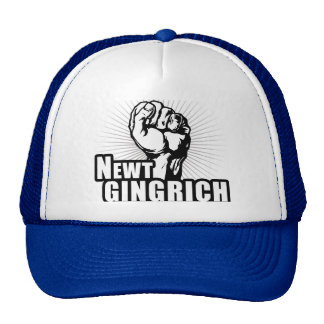 Vote Newt Gingrich Trucker Hat