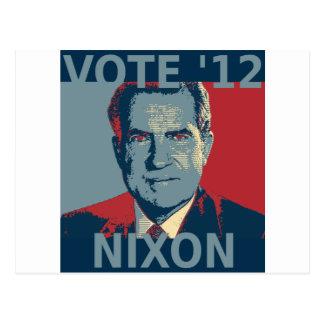 Vote Nixon 2012 Postcard