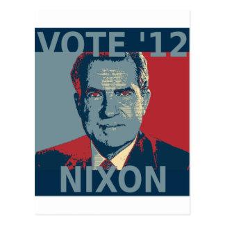 Vote Nixon 2012 Post Cards