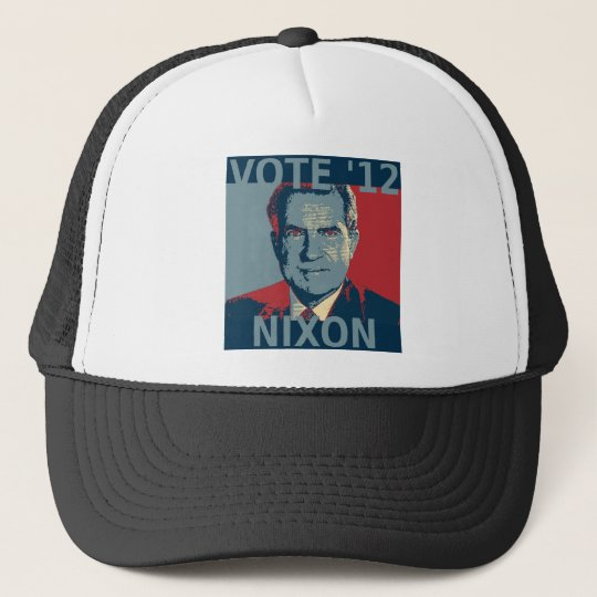 Vote Nixon 2012 Trucker Hat