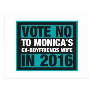 Vote no a la esposa de los Ex-Novios de Mónica en Tarjeta Postal