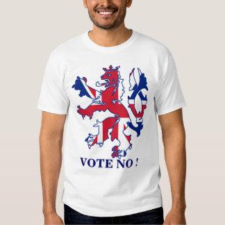 Vote no a la independencia escocesa playeras