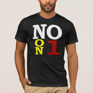 Vote no en 1 por camiseta de la igualdad