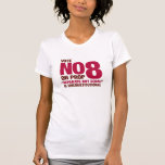Vote no en el asunto 8 de California Camiseta