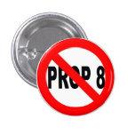 Vote no en el botón del apoyo 8 pin
