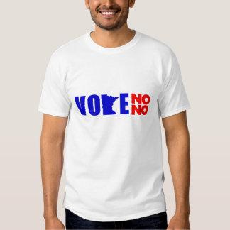 VOTE NO NO MINNESOTA T SHIRT
