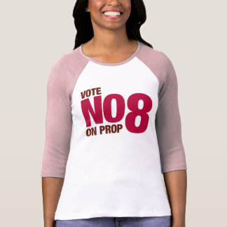 Vote No on California Proposition 8 T-Shirt