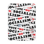Vote No To Socialism Flexible Magnet