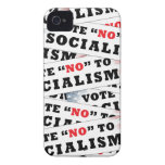 Vote No To Socialism iPhone 4 Cover