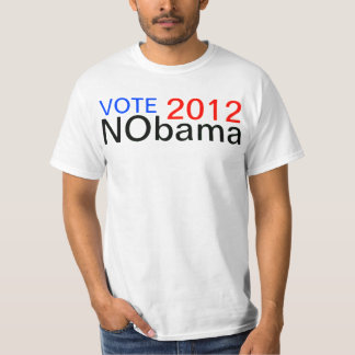 VOTE NObama 2012 T-Shirt