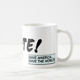 """""""VOTE"""" non-partisan mug"""