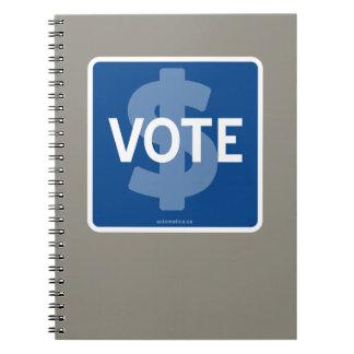 $ VOTE NOTEBOOK