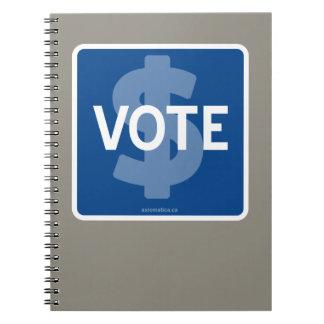 VOTE NOTEBOOK