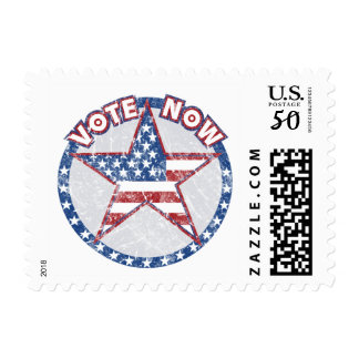 Vote Now stamps