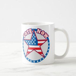 Vote Now Star Coffee Mug