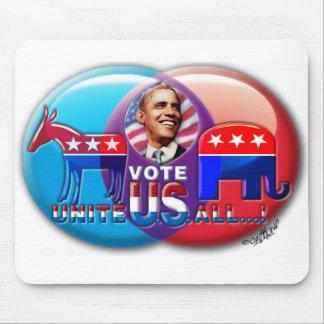 VOTE OBAMA '08 MOUSE PAD