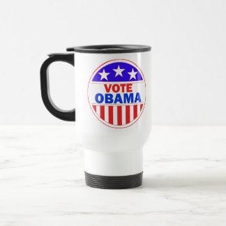 Vote Obama 15 Oz Stainless Steel Travel Mug