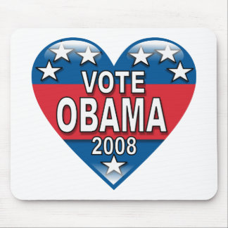 Vote Obama 2008 Mouse Pad