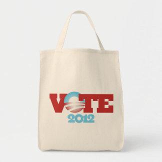 VOTE Obama 2012 Canvas Bag