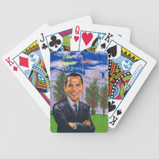 Vote Obama 2012 Bicycle Playing Cards