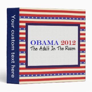 Vote Obama 2012 Binder