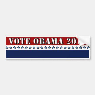 Vote Obama 2012 - bumper sticker Car Bumper Sticker