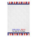 Vote Obama 2012 Custom Stationery