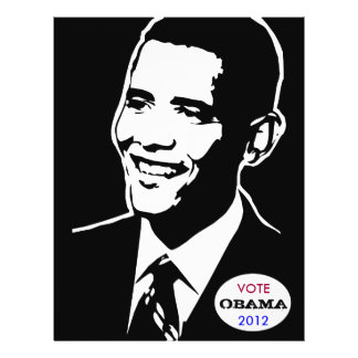 VOTE OBAMA, 2012 flyer